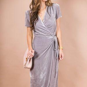 Nasty Gal Velvet Dress